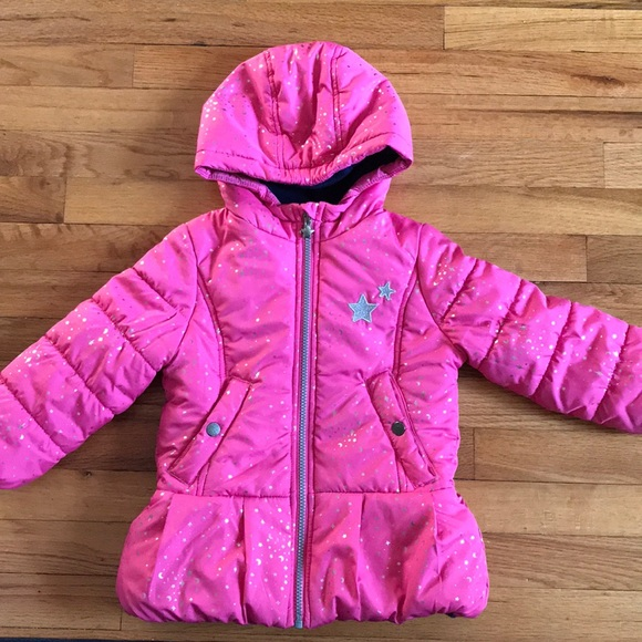 OshKosh B'gosh Other - EUC OshKosh Girls pink star winter coat size 4